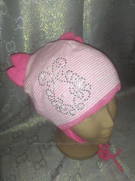 Демісезонні шапочки Agbo для дівчаток