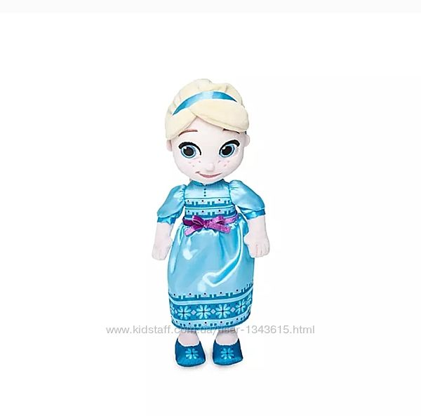Мягкая плюшевая кукла принцесса Эльза, Дисней, Аниматорс