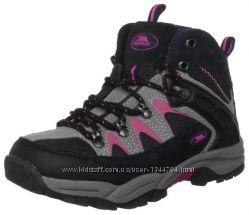 Кожаные , водонепроницаемые ботинки Trespass kids демисезонные  эврозима 3