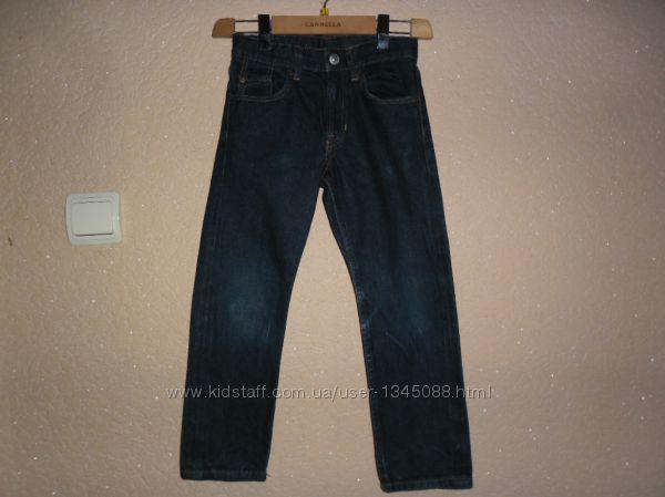 Джинсы плотные для мальчика 5-6 лет, рост 116см от H&M