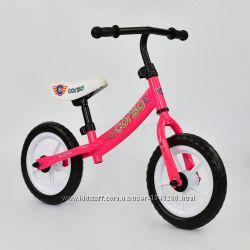 Беговел велобег детский TM Corso колеса EVA 12 дюймов арт. 7450