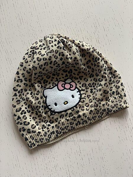 шапочка hello kitty h&m 110-128 см, 4-8 лет леопард хелло китти шапка