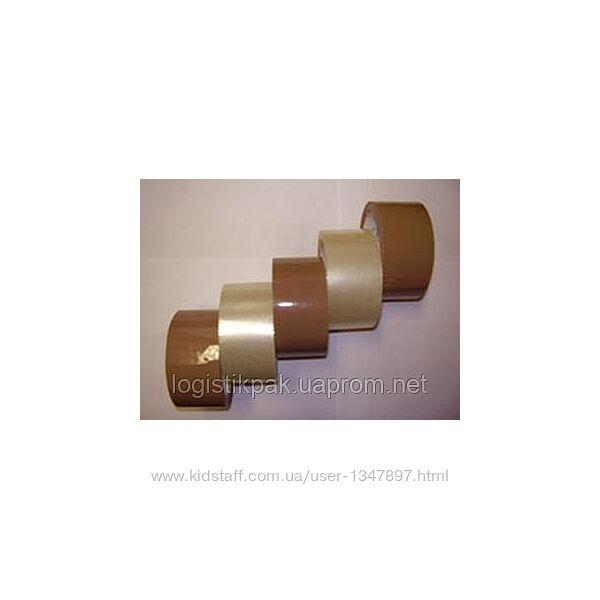 Лента-скотч коричневая