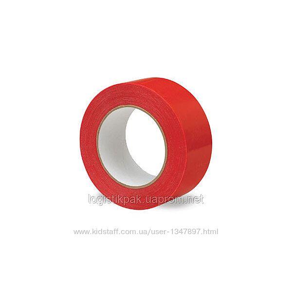 Скотч упаковочный красный