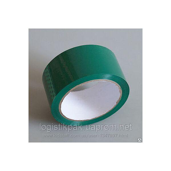 Скотч упаковочный зеленый