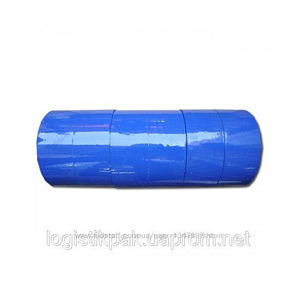 Скотч упаковочный синий