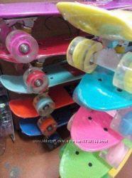 Акція Скейт Пениборд  Penny board, колеса светятся
