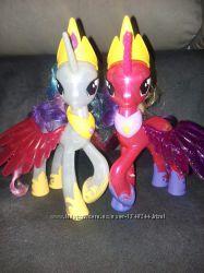 Пони Селестия, Каденс My little pony свет, звук, с аксессуарами