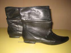 Шкіряні жіночі черевички