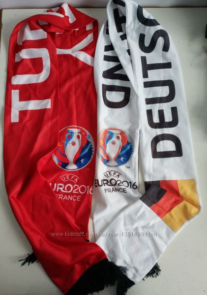 Шарф шарфик  Euro   2016 France немецкого бренда   C&A
