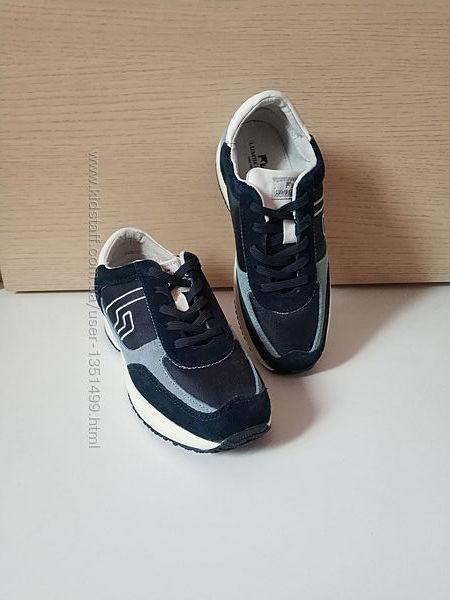 Детские замшевые кроссовки унисекс итальянского бренда Lumberjack Оригинал