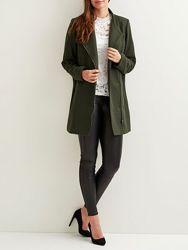 Женское деми пальто кокон шерсть датского бренда object оригинал