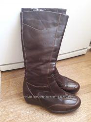 Кожаные сапоги Clarks 36 размер