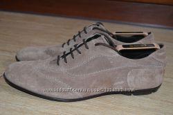 Bruno Magli 43р туфли ботинки итальянские. оригинал.