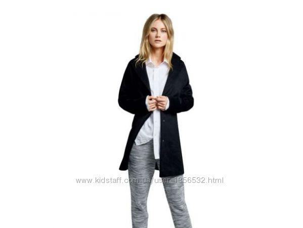 Пальто бойфренд, демисезонное, черное, М 40, Германия