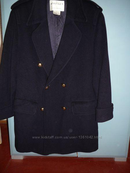 Пальто шерсть с кашемиром Jaeger