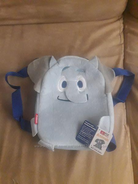 Новый детский маленький рюкзак слоник от Эмиратских авиалиний