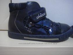 Кожаные ботиночки Chicco 22 р 13, 5 см Flex-Zone