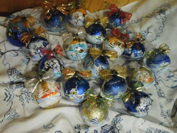 новорічні кульки