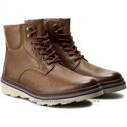 Зимові черевики Clarks Frelan Top Brown