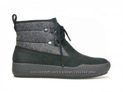 Шкіряні черевики Clarks Shiliin Ava Black