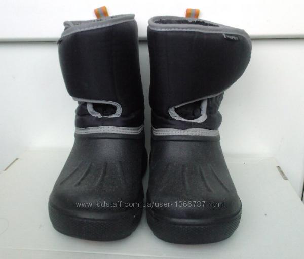 Зимние сапоги  Н&M, бу, для мальчика, 31 р-ра, стелька 19, 5 см.