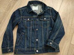 Джинсовая куртка Vertbaudet р.122-130