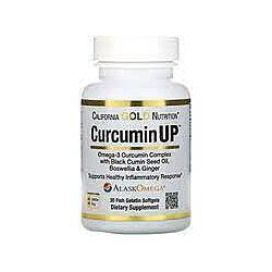California Gold Nutrition, Curcumin UP, Omega-3 & Curcumin Complex, Joint M