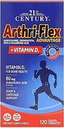 усоверш суставы 120 таб 21st Century Arthri-Flex Advantage D3