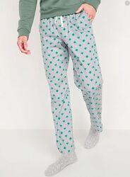 Мужские пижамные штаны, штаны домашние Old Navy, 100 хлопок.
