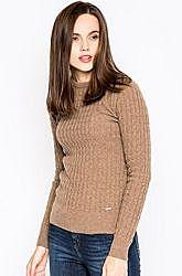 Базовый бежевый свитер пуловер джемпер шерсть р. м 38-36 barbour