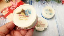 Детское ароматное новогоднее мыло с картинкой