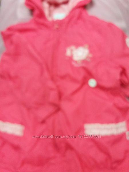Курточки-ветровки от 1 до 4-5 лет брэнды Mothercare, Оstin и др.