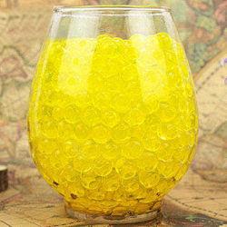 Шарики-пульки Орбиз 9-11 мм, 10 000 штук, цвет золотой, Hidrosvit