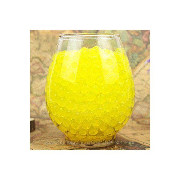 Шарики-пульки Орбиз 9-11 мм, 10 000 штук, цвет жёлтый, Hidrosvit