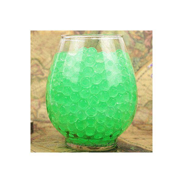 Шарики-пульки Орбиз 9-11 мм, 10 000 штук, цвет зелёный, Hidrosvit