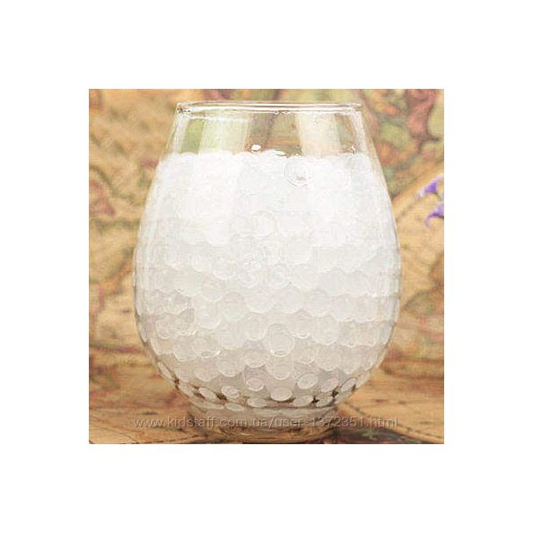 Шарики-пульки Орбиз 9-11 мм, 10 000 штук, цвет белый, Hidrosvit