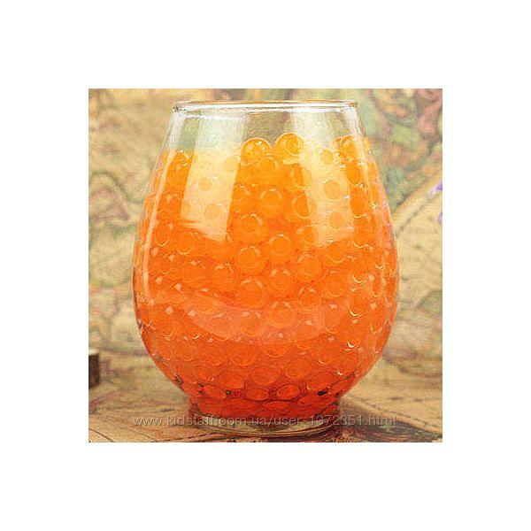 Шарики-пульки Орбиз 9-11 мм, 10 000 штук, цвет оранжевый, Hidrosvit