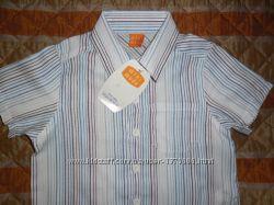 Рубашка для мальчика новая 6-9 мес, рост 68-74см от Mini Mode
