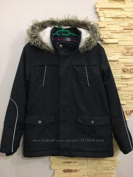 Куртка парка 9-10 лет рост 134-140