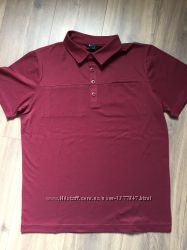 Мужская футболка-поло mpg бардовая