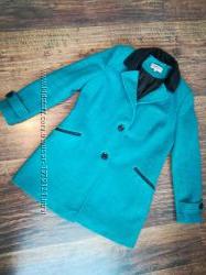 Стильное демисезонное пальто M&S, р. 38 М