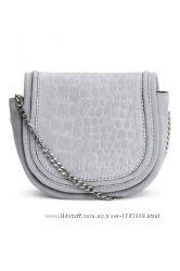 Замшевая сумка через плечо h&m