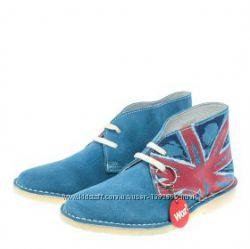 Замшевые ботинки дезерты woz натуральная кожа