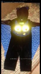 Карнавальные костюмы летучая мышь кажан.  Размер 80-86. 86-92