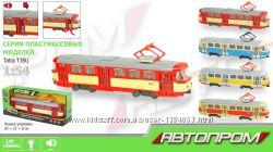 Трамвай Татра Т3 Автопарк с музыкой и озвучкой
