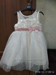 Нарядное платье для девочки 3 года