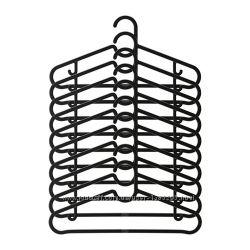 В наявності ikea Spruttig Вішалки для одягу 10шт в уп 203. 170. 79