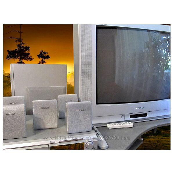 Телевизор Daewoo DTК-28A8-100D  Домашний кинотеатр Daewoo DHC-XD100