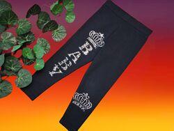 Вenini трикотажные штанишки гамаши  со стразами для девочки 4 года